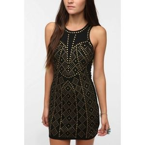 URBAN OUTFITTERS Sparkle and Fade studded dress